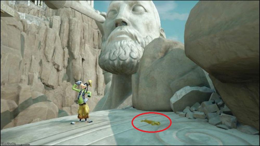 Golden Herc Figure locations Kingdom Hearts 3 Guide