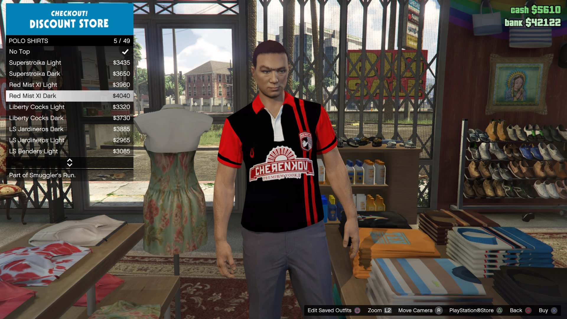 GTA Online Red and Black