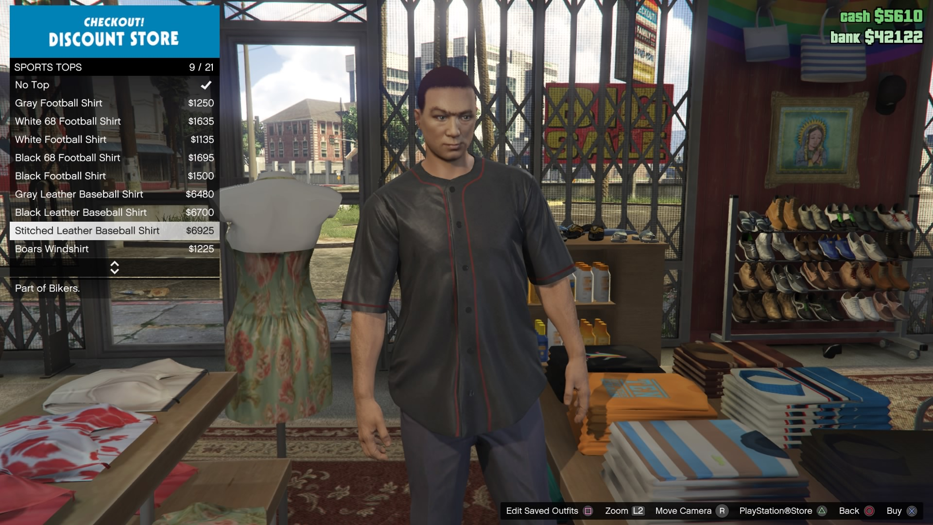 GTA Online Stitched Leather