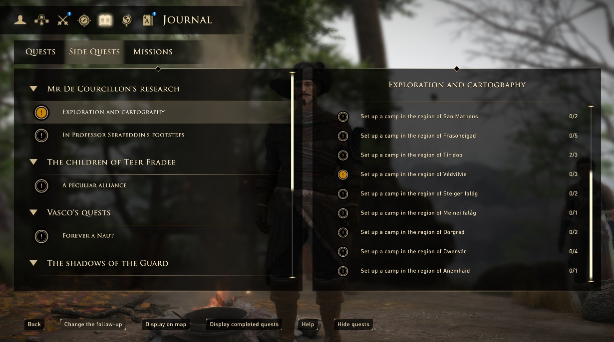 Advance Quest Step In Journal
