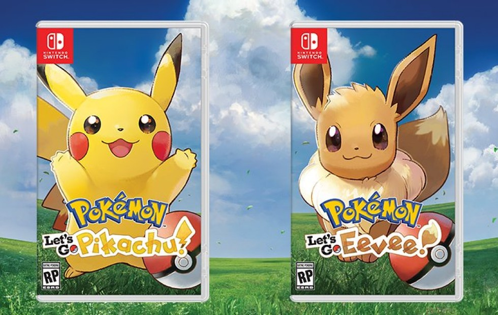 Pokemon Let's Go Pikachu and Eevee