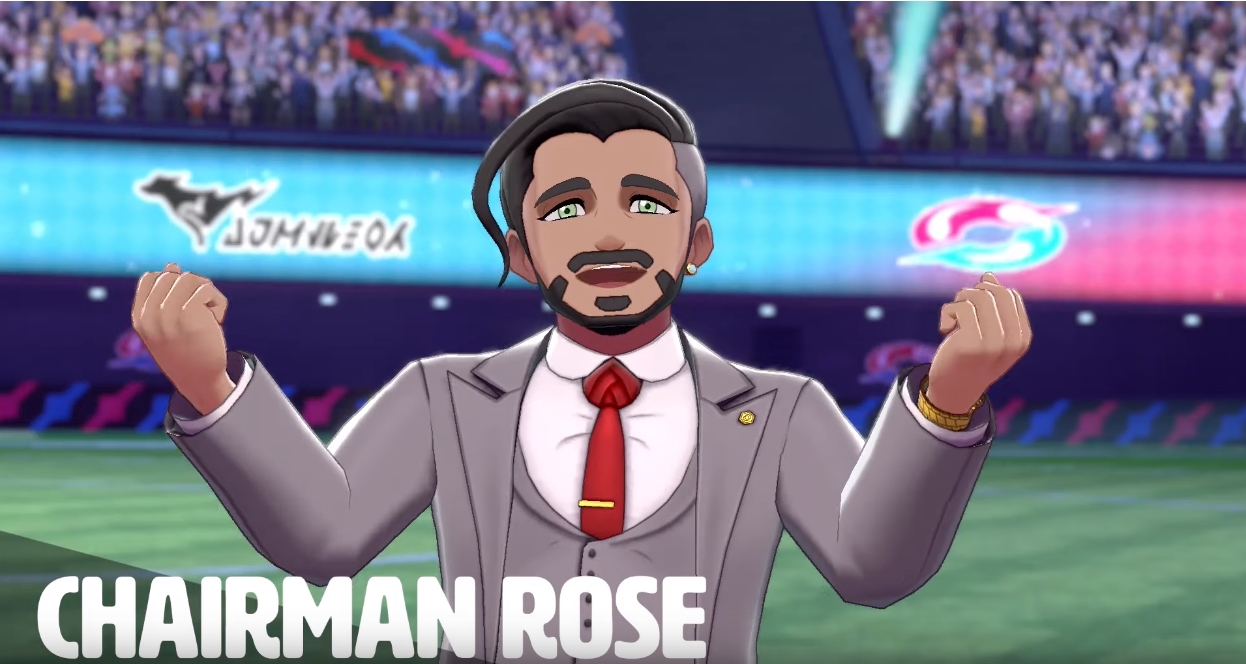 Chairman Rose from Pokemon Sword and Shield