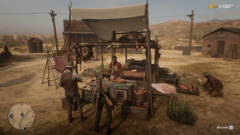 Red Dead Online Butcher