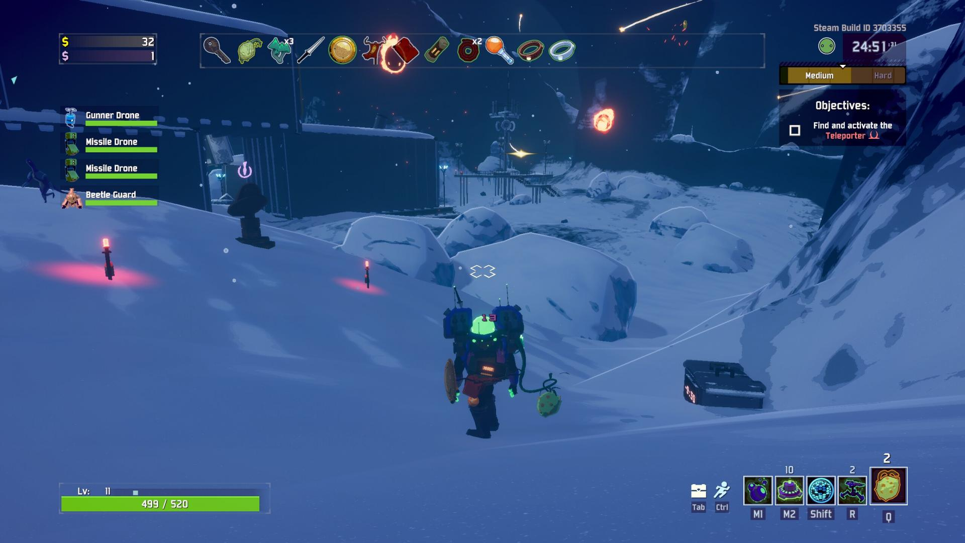 Timed Chest Locations