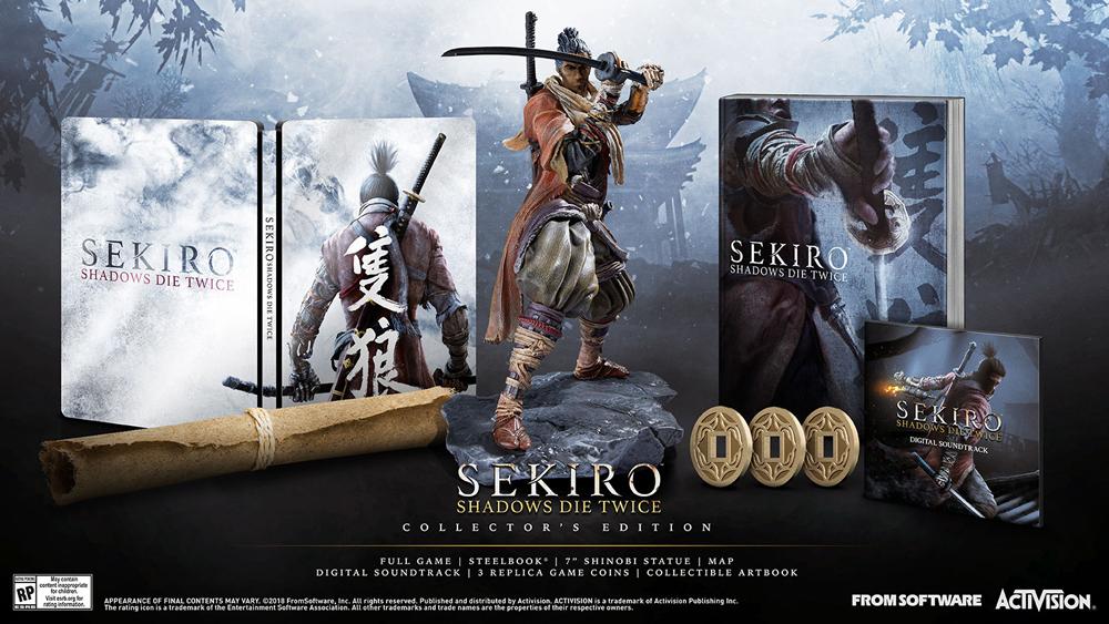 Sekiro Collector's Edition