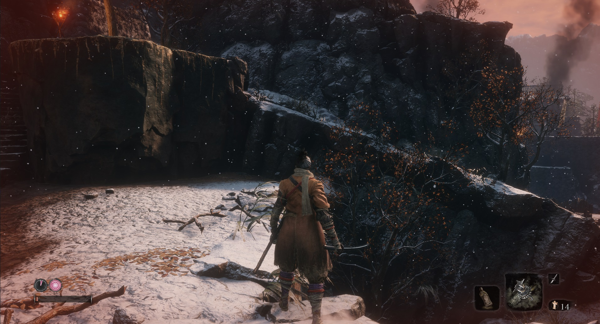 Sekiro Partially Red Revive