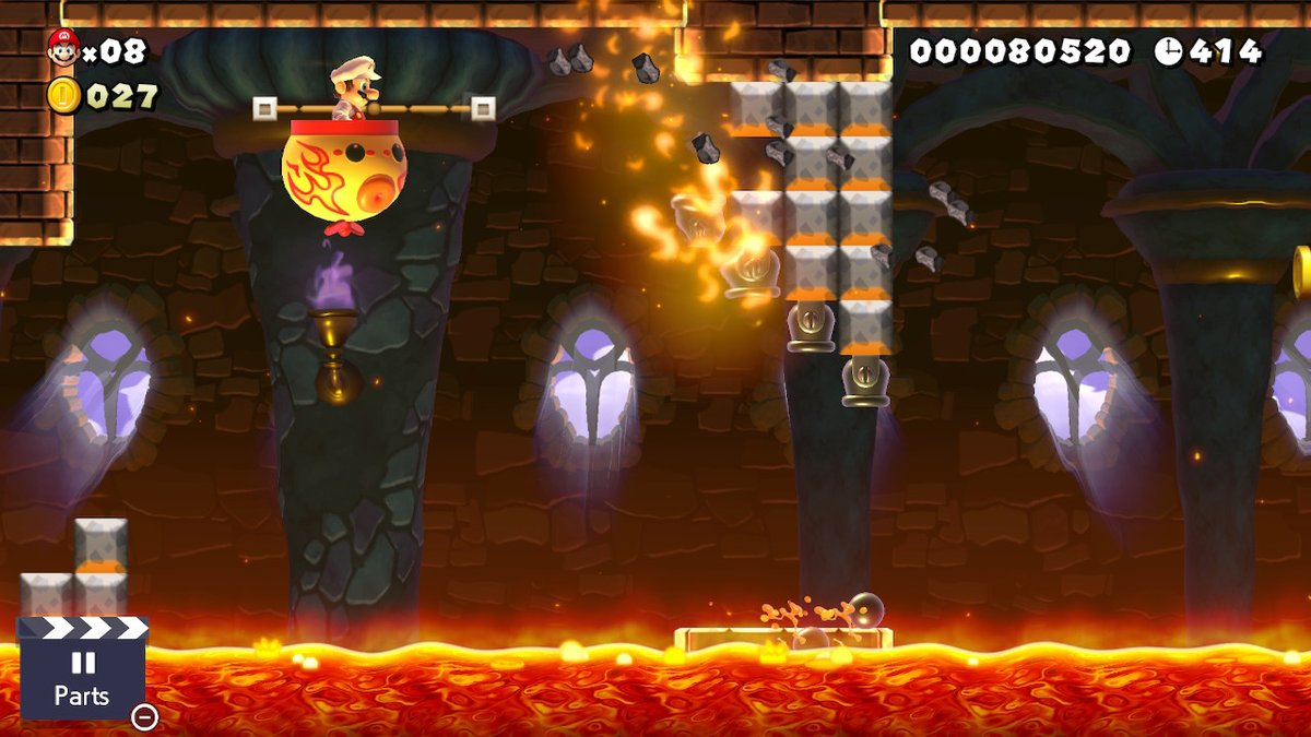 Super Mario Maker 2 That's One Hot Car Level Guide