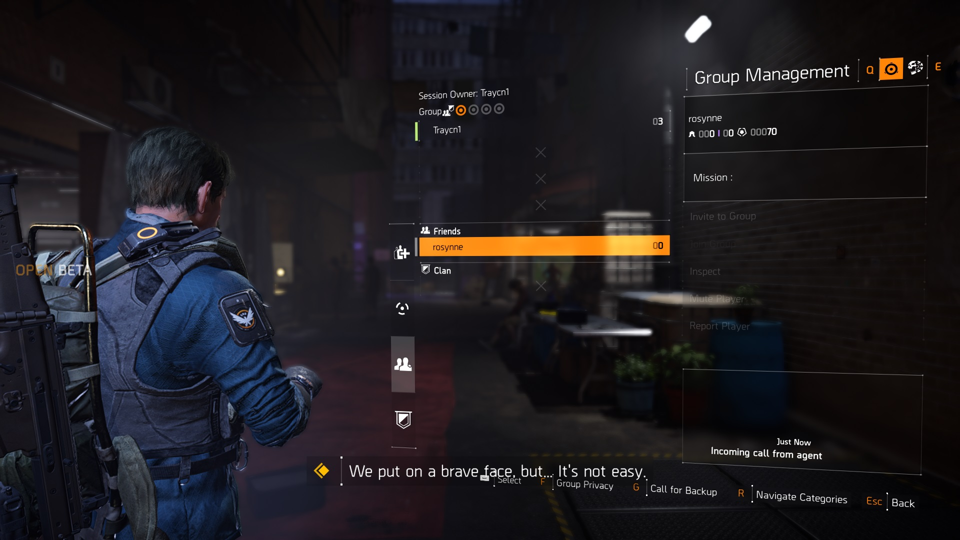 Invite Your Friends in The Division 2