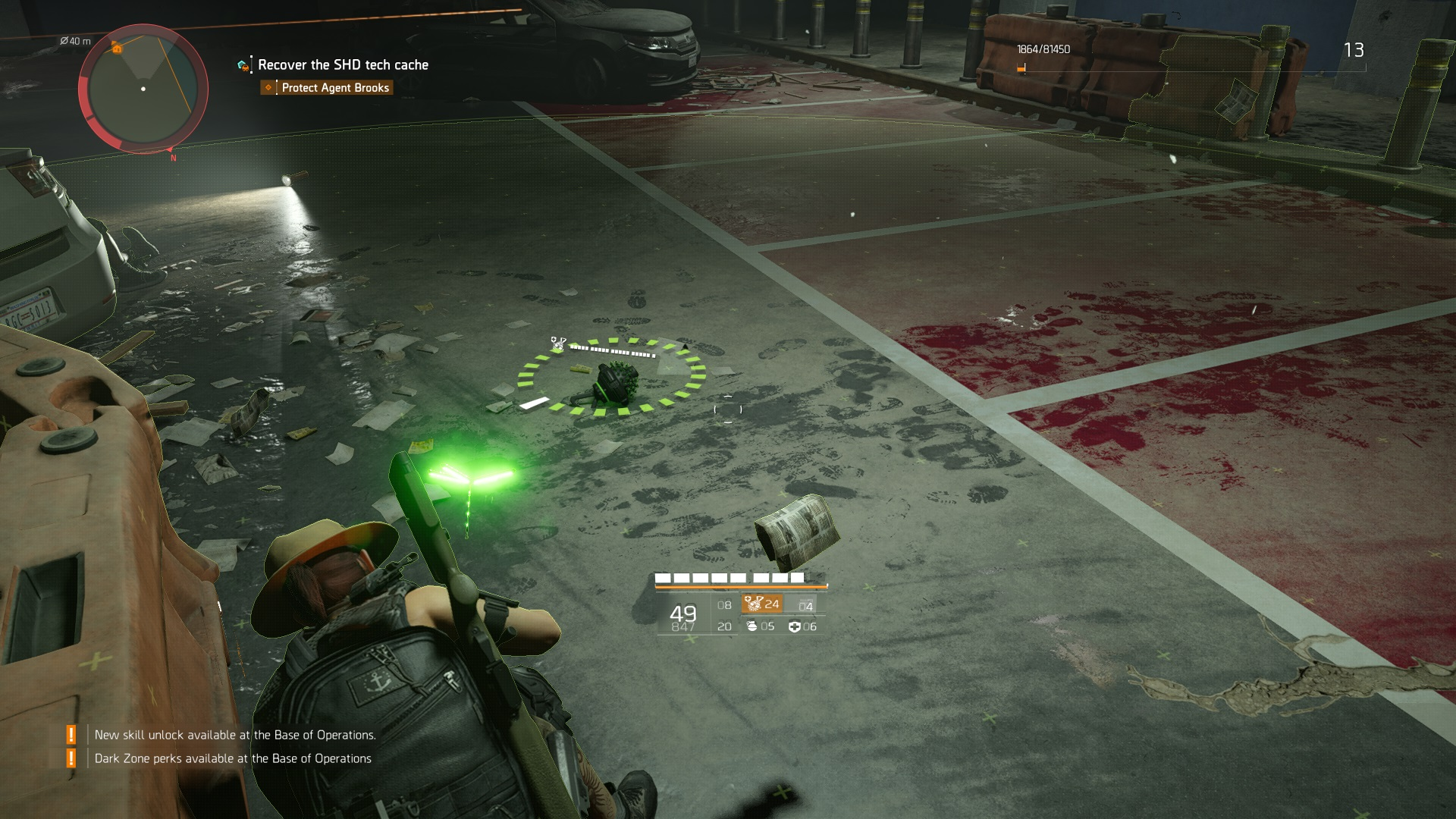 The Division 2 Healing Hive