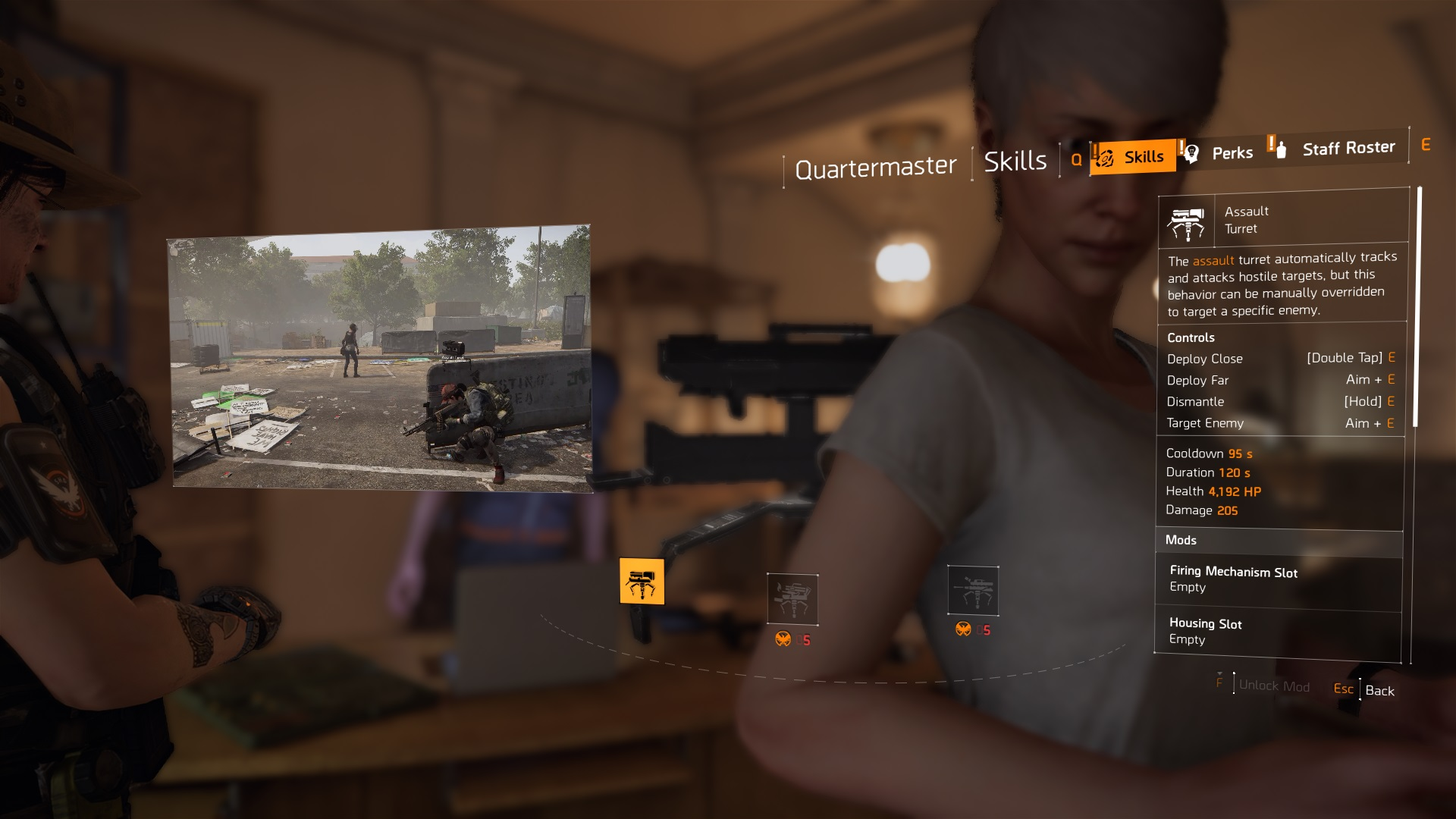 The Division 2 Learning About Skills