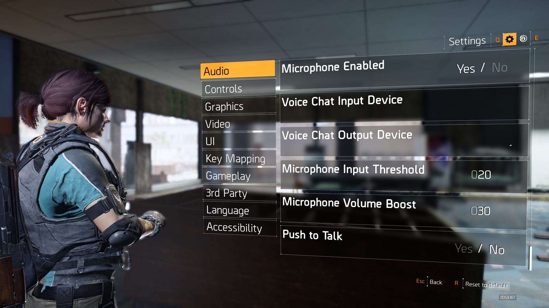 The Division 2 Microphone Options