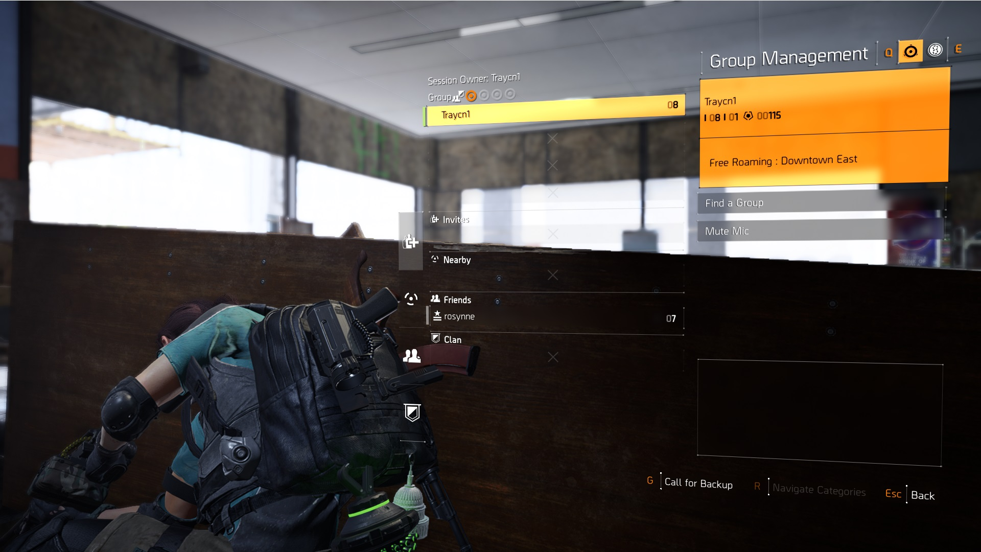 The Division 2 Muting Your Microphone