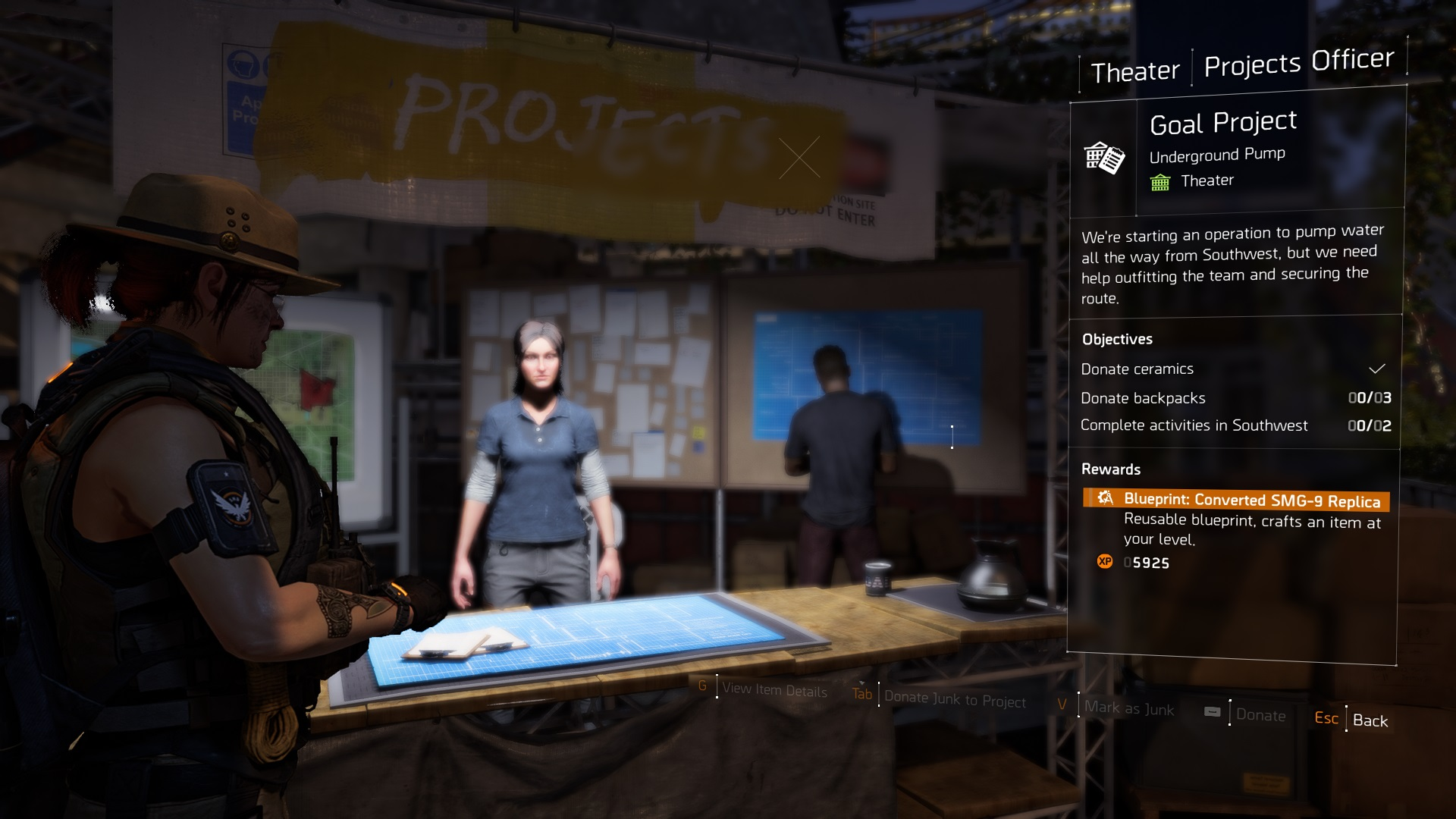 The Division 2 Settlement Projects
