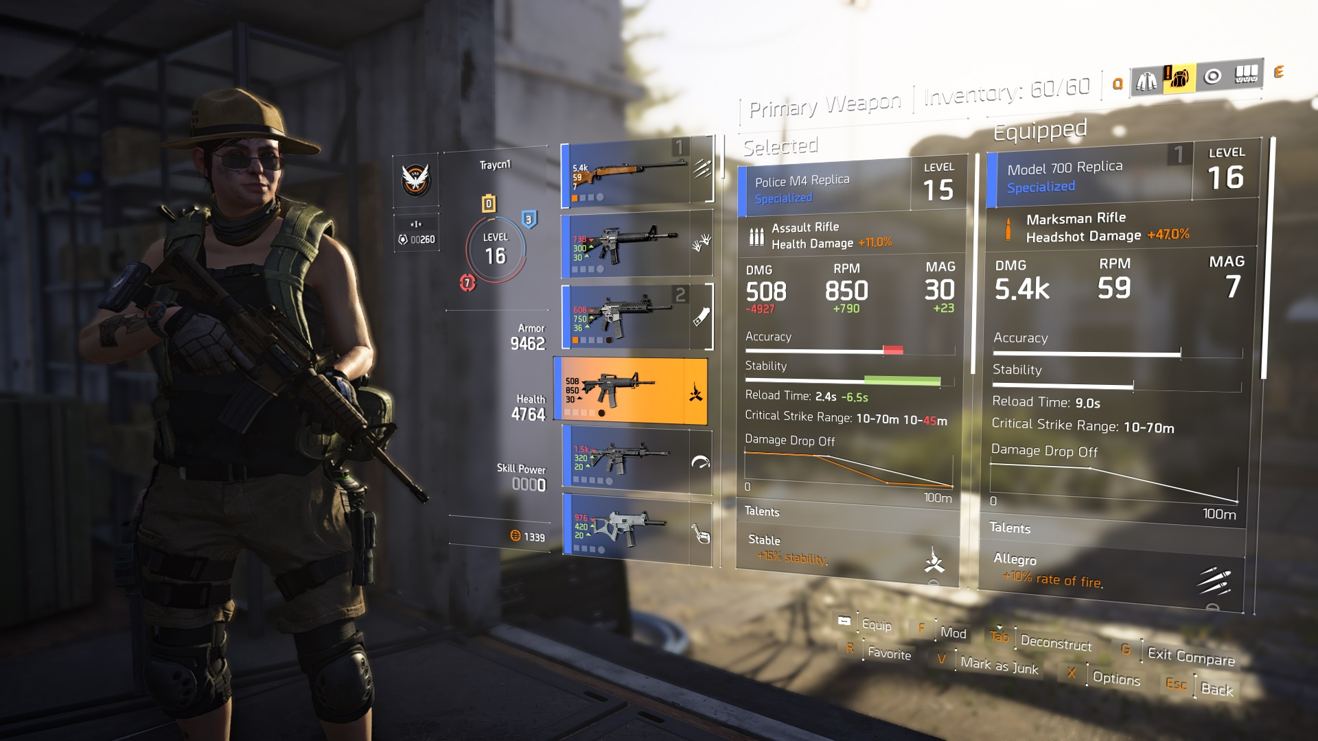 The Division 2 Weapon Drop Off