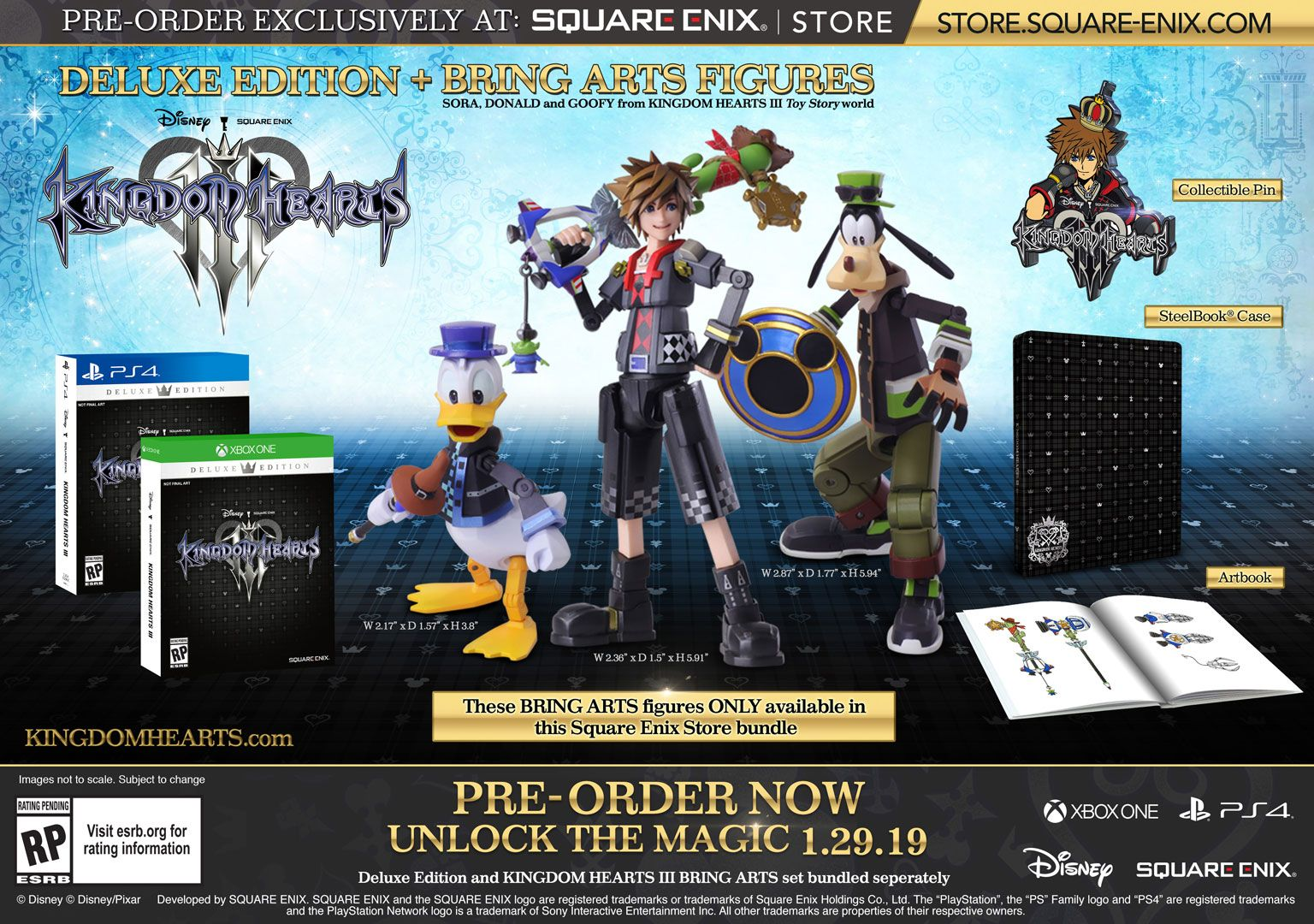 Standard Edition, Deluxe Editions and Pre-Order Bonuses