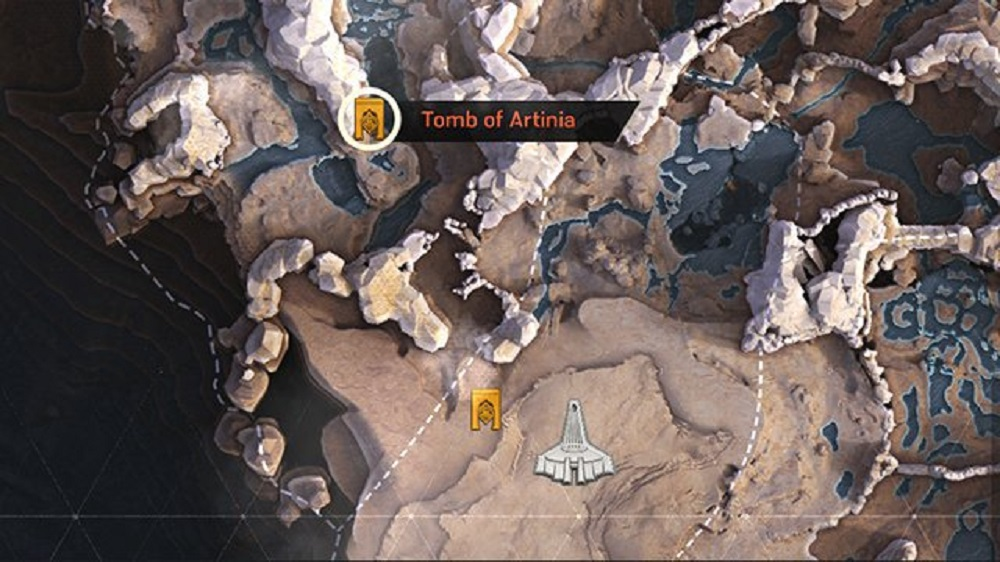 Find & Unlock all Four Tombs Anthem