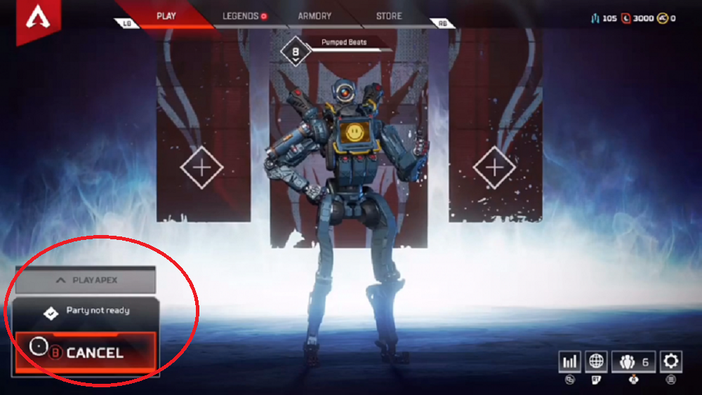 "How to fix the ""Party Not Ready"" error in Apex Legends"