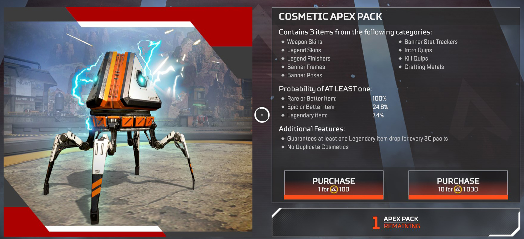 Apex Legends How to get crafting guide