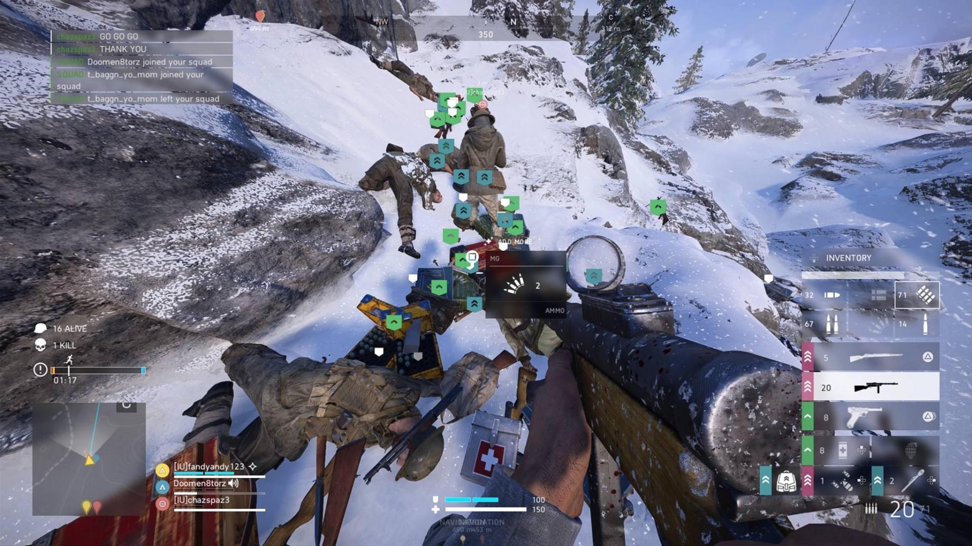 Battlefield V Firestorm Looting System