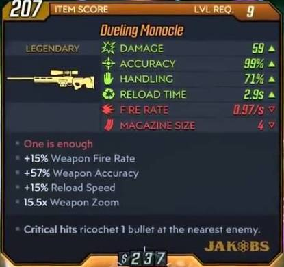 Borderlands 3 Legendary Weapons Preview: Sniper Rifles