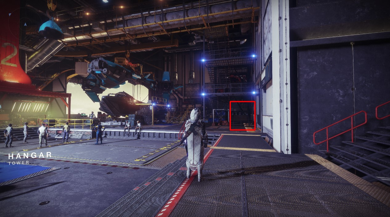 Destiny 2 - How To Find Banshee's Workshop In The Tower