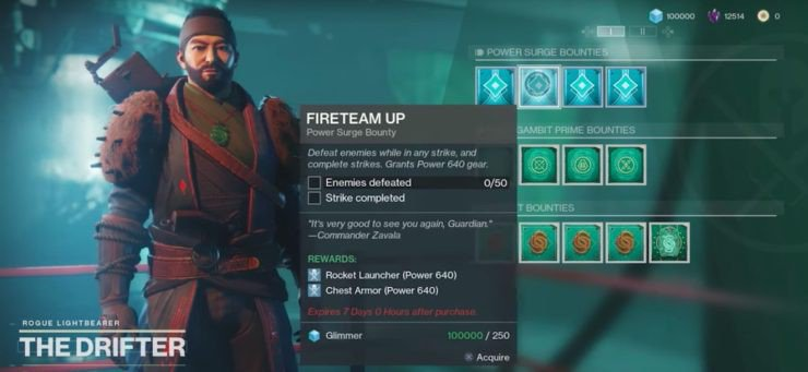 Destiny 2 How to Get a Weak Synthesizer