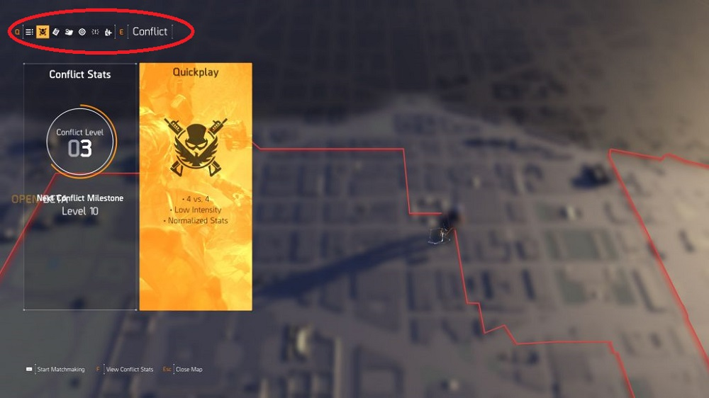 The Division 2 How to start the Conflict Mode