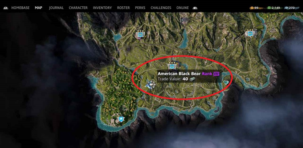 Far Cry New Dawn All the animal and their positions