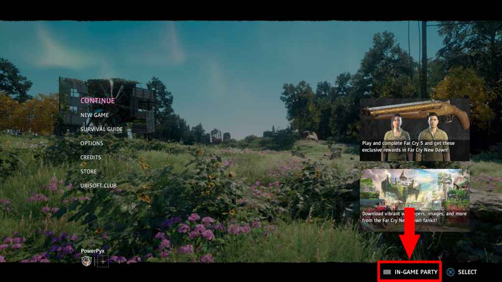 Far Cry New Dawn How to Invite Friend in Co-op Guide