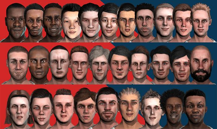 Horror Faces