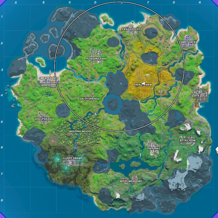 Fortnite - Chapter 2 Map - All Named Locations