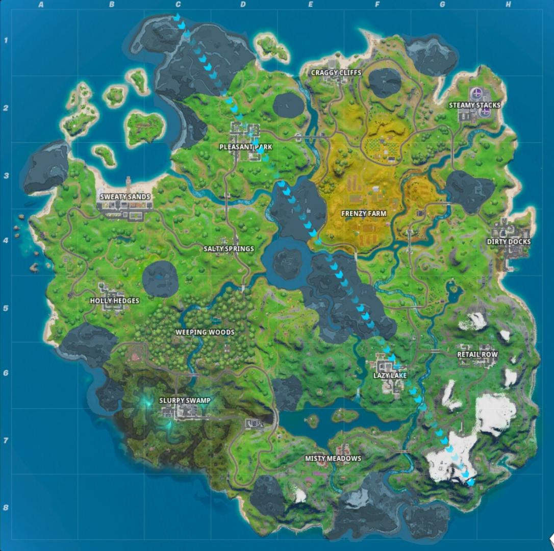 Fortnite Locations