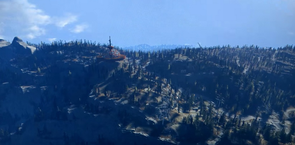 Fallout 76 Glowing Resin Location - Top Of The World