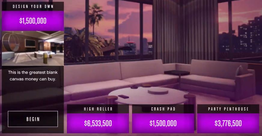 GTA Online Penthouse
