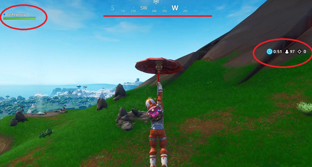 Fortnite How to remove the HUD