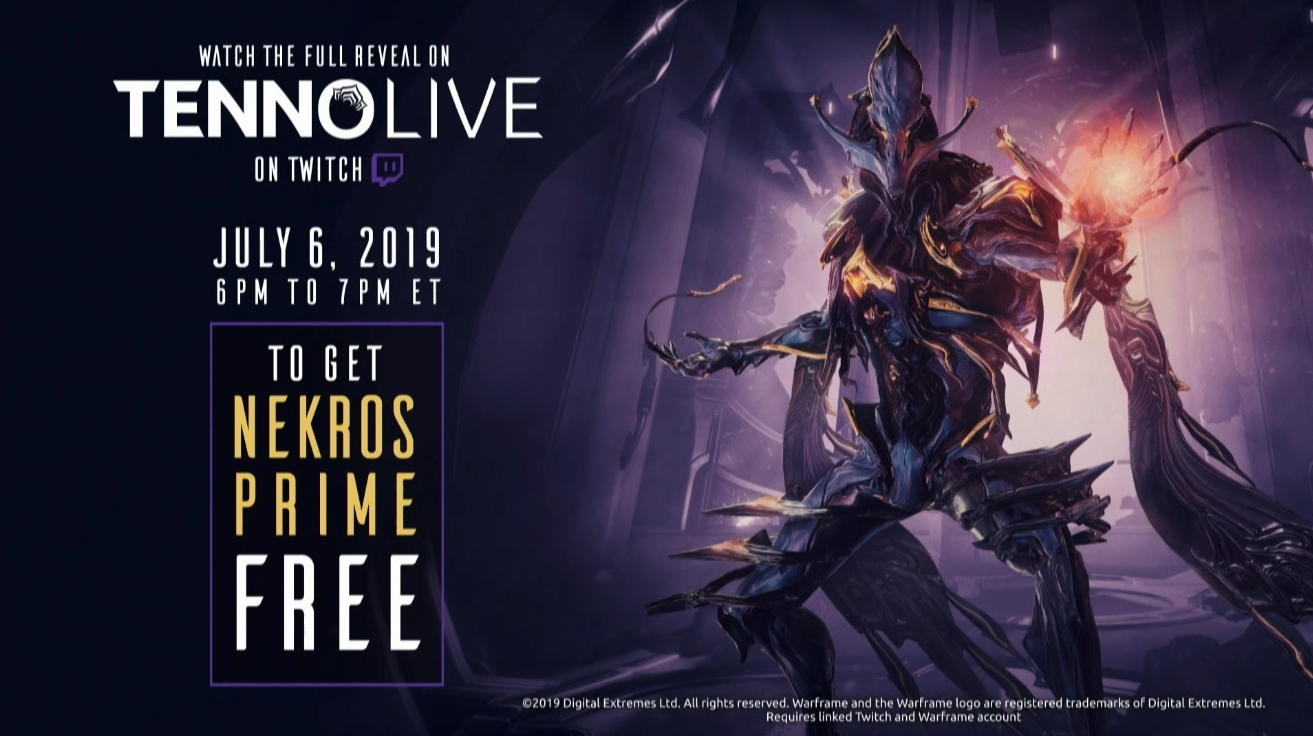 Warframe's Railjack Expansion Is Getting A Reveal On July 6