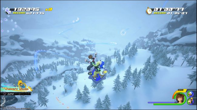How to get 600000 score on Frozen Slider Kingdom Hearts 3
