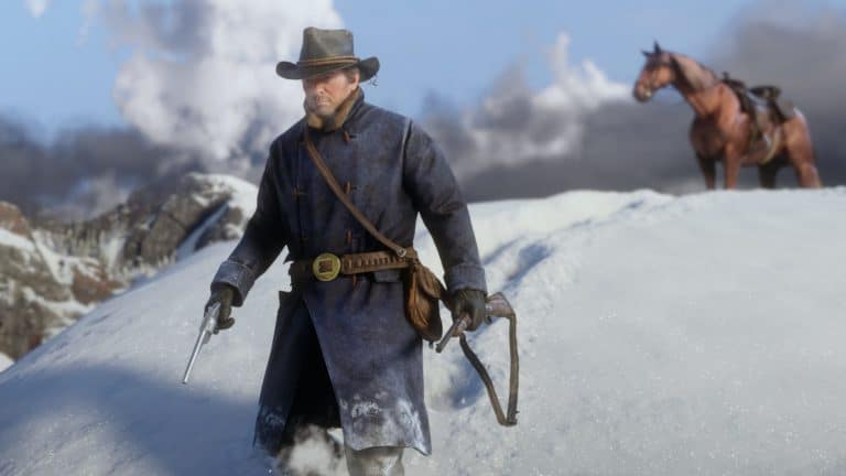 Red Dead Online Warm Clothes