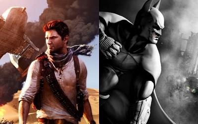 batman arkham city vs uncharted 3