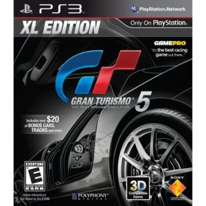 Gran Turismo 5 XL Edition Box Art