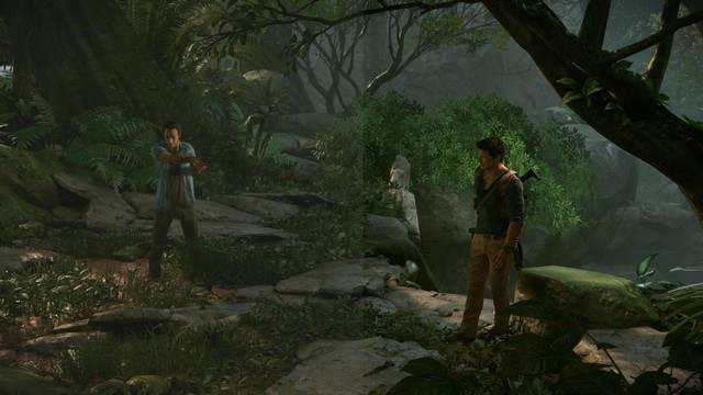 Uncharted 4 Color Corrected vs Actual Gameplay Comparison