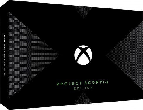 Project Scorpio Xbox One X Limited Edition