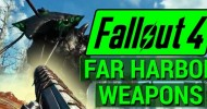 Fallout 4: Far Harbor Weapons Unique and Legendary