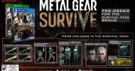 Metal Gear Survive Pre-order Bonus Details