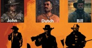 Red Dead Redemption 2 - Characters Name From Poster