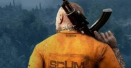 SCUM - How To Craft Wooden Spear, Stone Knife, And Courier Backpack