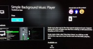 UWP Background Music App For Xbox One