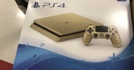 PS4 Slim Gold Variant Incoming Soon