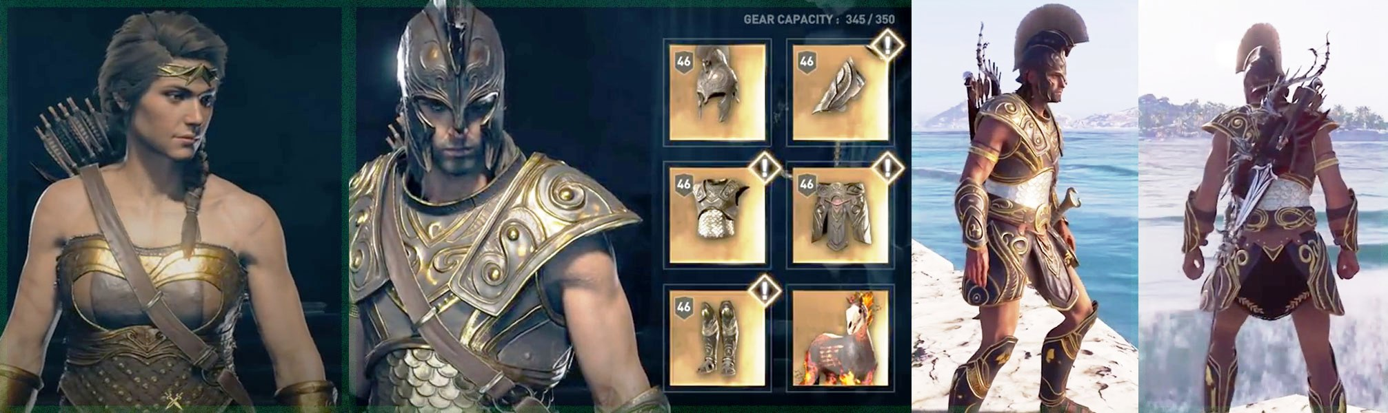 Ac Odyssey Legendary Armors Unlock All Legendary Armor And
