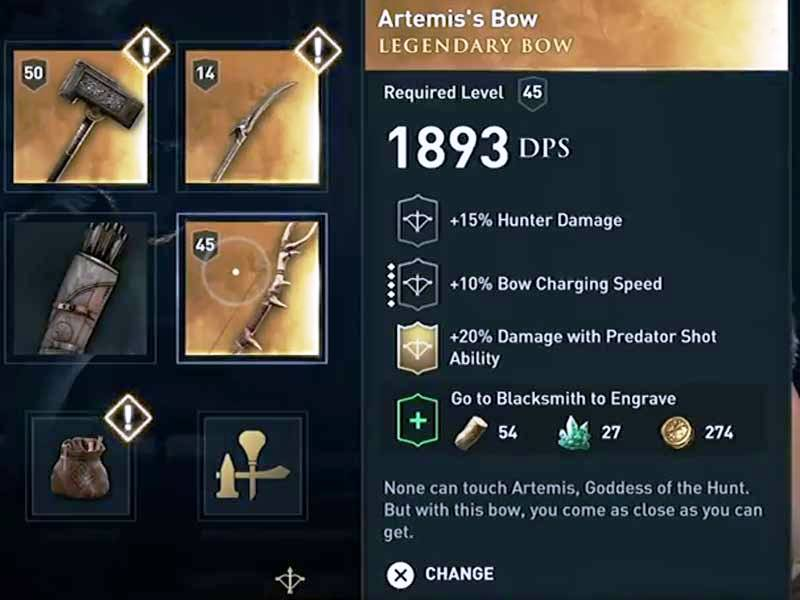 4 Best Weapons To Unlock Early In Assassin's Creed Odyssey